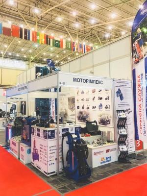 Компания «МОТОРИМПЕКС» приняла участие в выставке «ОРУЖИЕ И БЕЗОПАСНОСТЬ 2018»