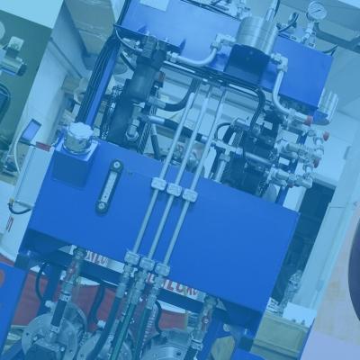 Испытательный стенд с шаровым расходомером – Маслостанция «СМИ-593»