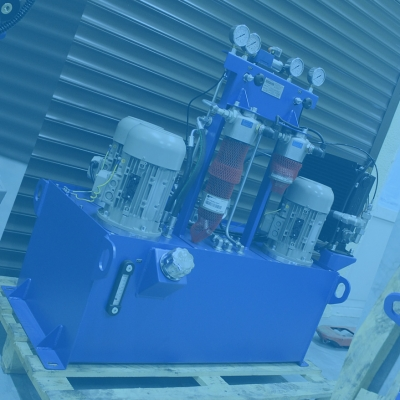 Маслостанция для работы с горизонтальным расточно-фрезерным станком