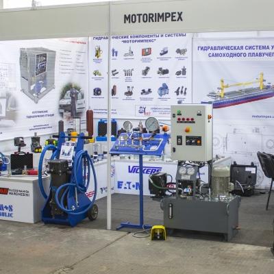 Гідравліка для судноплавства від «Моторімпекс» на виставці «Суднобудування-2019»