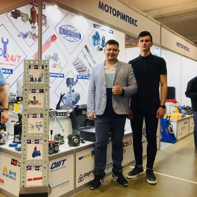 Гидрооборудование на выставке «Деревообработка-2019» от компании «Моторимпекс»