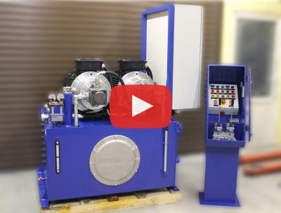 Маслостанція МІ-1130 – Відеоогляд випущеного гідрообладнання