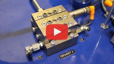 Испытываем автоматическую централизованную систему смазки двух грануляторов (АЦСС)