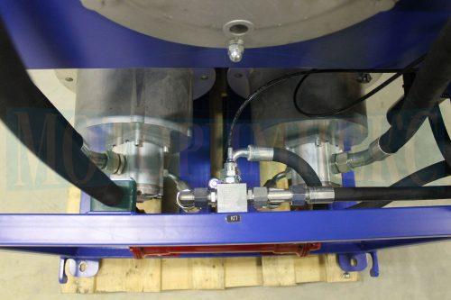Запобіжний клапан і шестеренні гідронасоси маслостанції МІ-928