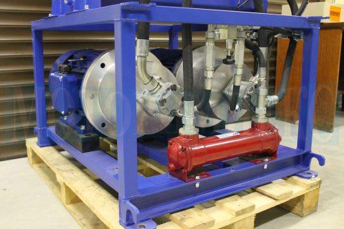 Насосно-моторні групи (НМГ) і водяний маслоохолоджувач SA081 маслостанції МІ-928