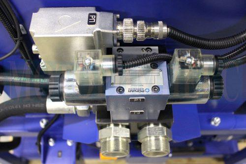 Пропорційний регулятор витрати QVHZO і гідророзподільник 4WE6 маслостанції МІ-928