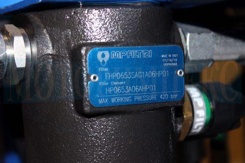 Напірний фільтр FHP065 з датчиком забрудненості фільтоелемента гідростанції МІ-928