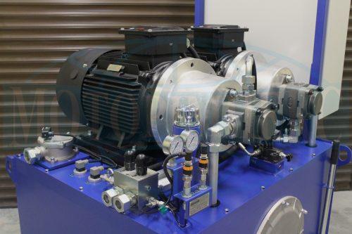 Гидрооборудование маслостанции МИ-1130 для открытия и закрытия трюмных люков