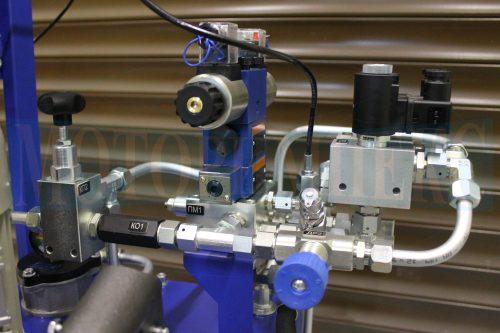 Клапанная и распределительная гидроаппаратура маслостанции СМИ-1167