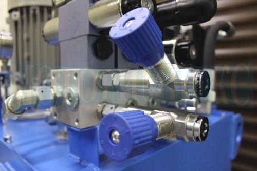 Дроссели VRFU 90° с обратным клапаном производителя Oleodinamica Marchesini - МИ-1200