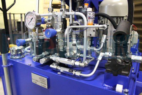 """Гідрообладнання на маслостанції МІ-1260 виробництва компанії """"Моторімпекс"""""""