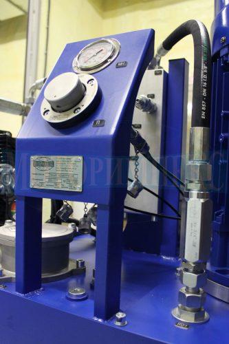 Панель с переключателем манометров UOPF4 (Ponar) маслостанции МИ-1117