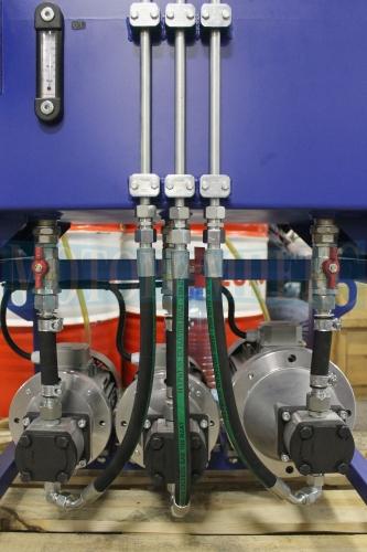 Насосно-моторные группы (НМГ) с шестеренными насосами (НШ) маслостанции МИ-593