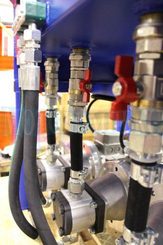 Соединительные шланги шестеренных насосов на насосно-моторных группах МИ-593