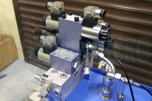 Гидрооборудование производителя Ponar на монтажной плите BMA гидростанции МИ-1200