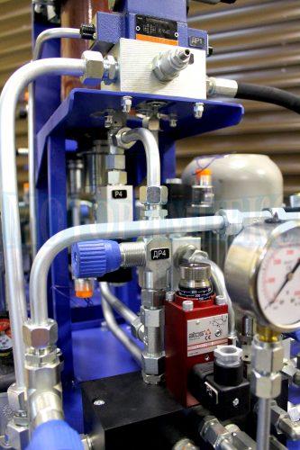 """Гідрообладнання маслостанції МІ-1260 виробництва компанії """"Моторімпекс"""""""