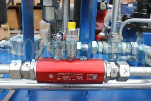 """Датчик потоку Hydac на гідравлічній станції МІ-490 виробництва компанії """"Моторімпекс"""""""