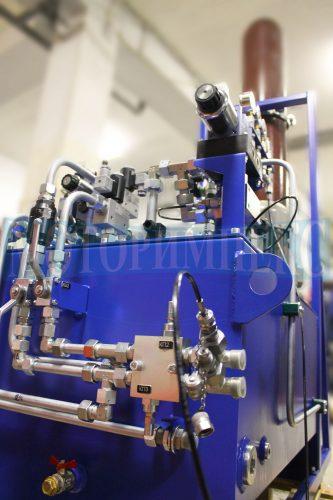 Гідроклапани високого тиску виробника Oleodinamica Marchesini на маслостанції МІ-751