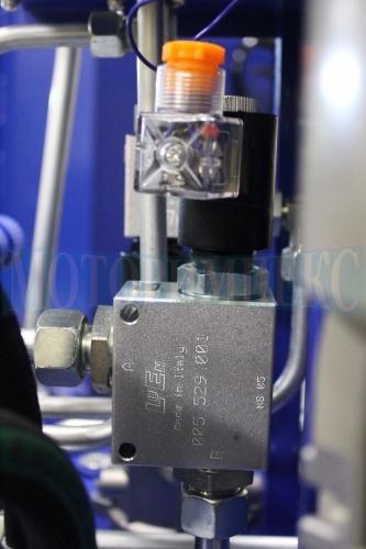 Картріджний електромагнітний клапан в монтажній плиті Luen на 80 л/хв - МІ-1260