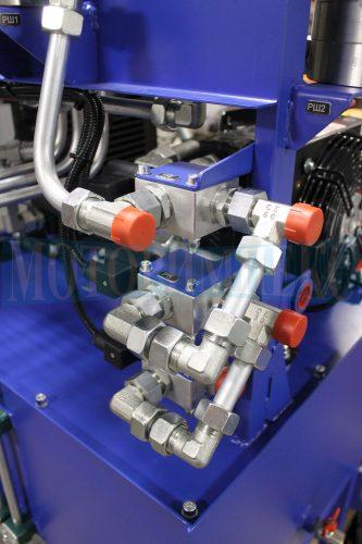 Монтажні плити Luen для картриджних клапанів гідростанції МІ-593