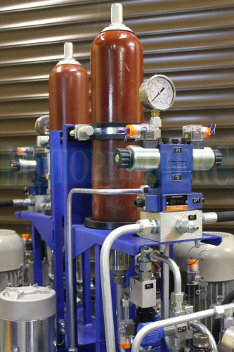"""Гідроакумулятори Epoll на маслостанції серії МІ-1260 виробництва компанії """"Моторімпекс"""""""