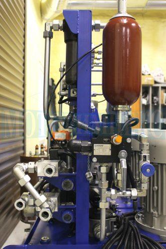 Гідроаккумулятор Epoll маслостанції МІ-684, датчик тиску, дросель і з'єднувальна арматура
