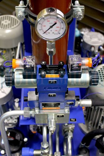 Гидрораспределитель и модульные клапаны Oleodinamica Mozioni маслостанции МИ-1260