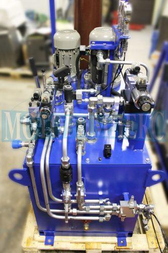 """Гідрообладнання на гідравлічній станції МІ-751 виробництва компанії """"Моторімпекс"""""""