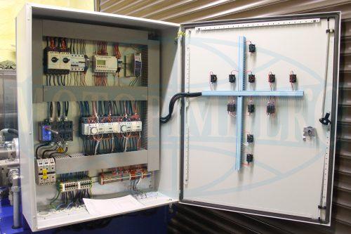Компоненты шкафа управления гидравлической станцией МИ-1130