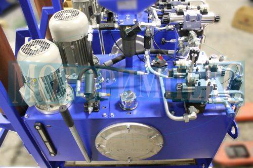 """Гідравлічне обладнання на маслостанції МІ-751 виробництва компанії """"Моторімпекс"""""""