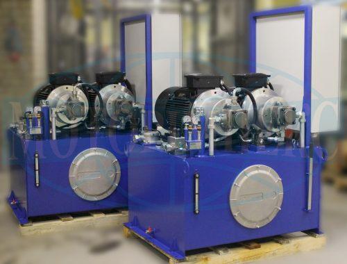 Маслостанции самоходного плавучего перегружателя «Nibulon MAX» от компании «Моторимпекс»