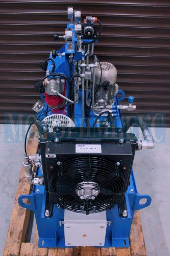 Воздушный маслоохладитель производителя OMT на гидравлической станции СМИ-750