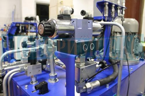 Гідророзподільник WE10 на монтажнiй плитi ULRA10 виробника Ponar
