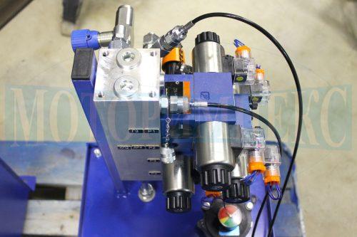 Гидрораспределитель 4WE6 на гидрозамке Oleodinamica Mozioni - плита BMA маслостанции МИ-1335