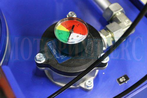 Сливной фильтр MPF0301 с визуальным индикатором загрязненности на маслостанции МИ-1335