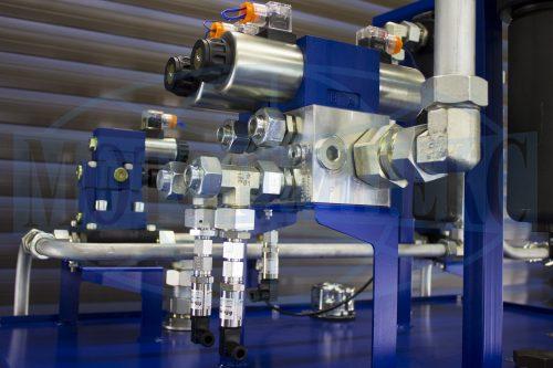 Гидравлический блок маслостанции МИ-1388