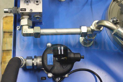 Сливной фильтр MPF1002 с визуальным индикатором загрязнения на маслостанции МИ-1200