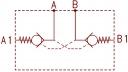 Гідрозамки двосторонньої дії 2UZSBR6