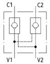 Гідрозамки двостороннього дії 2UZSG12