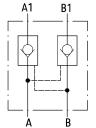 Гидрозамки двустороннего действия 2UZSG16