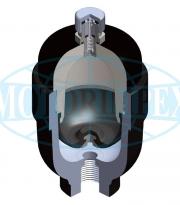 Гидроаккумуляторы мембранные разборные AM