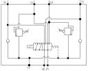Дивертора 6-ти лінійні 6UREE10 із запобіжними і зворотними клапанами