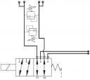 Диверторы 6-ти линейные 6UREE6 с двусторонним предохранительным клапаном