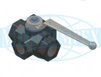 Шаровые краны B2460 для гидроаккумуляторов