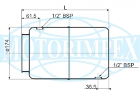 Гідробаки сталеві SER і SL
