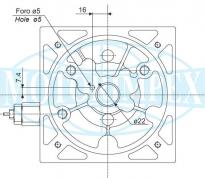 Опоры MCR для насосов и гидромоторов