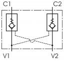 Гідрозамки двосторонньої дії BP2