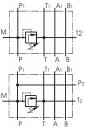 Монтажні плити BPC3 із запобіжним клапаном