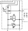 Клапани розвантаження BV72 для здвоєних насосів