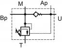 Клапани розвантаження BVU12 для здвоєних насосів